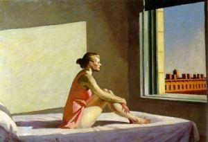 """E. Hopper """"Mornig Sun"""" - 1952"""